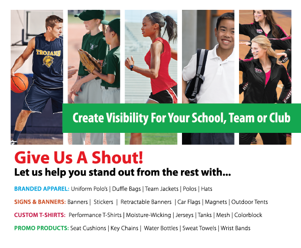 Create Visibility For Your School, Team or Club