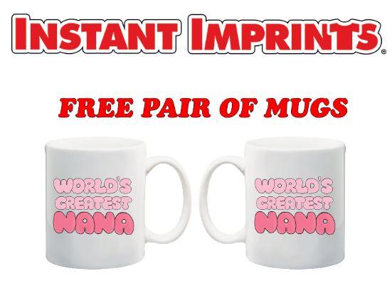 Free Mugs Promotion